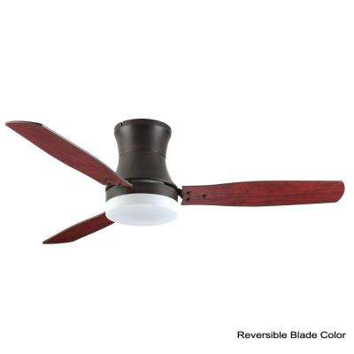 Modernaire 52 in. Oil Rubbed Bronze Ceiling Fan and Light