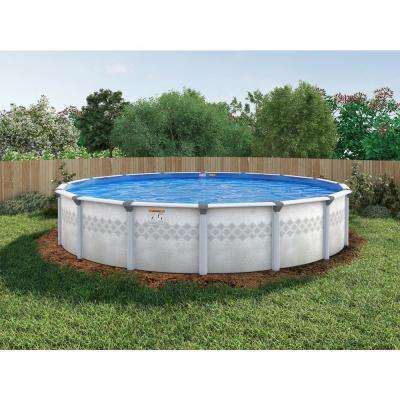 St. Lucia Round Pool Package 48 in. D
