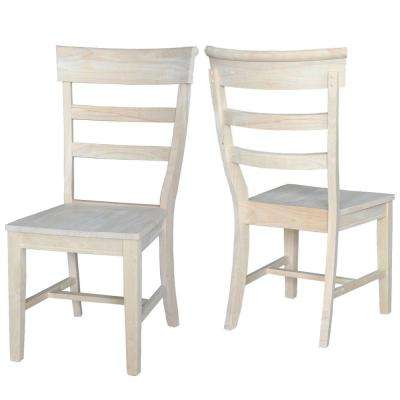 Pair of Hammerty Dining Chairs in Unfinished