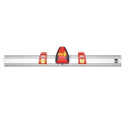 Pro Laser Set-A-Shelf 36 in. Set and Match with Laser Line and Stud Finder