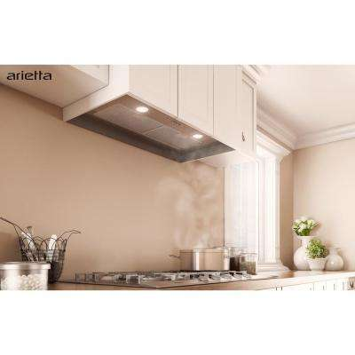 Garda 28 in. Insert Range Hood in Stainless Steel
