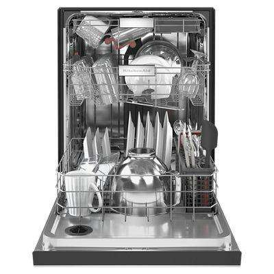 24 in. Front Control Built-in Tall Tub Dishwasher in PrintShield Stainless with Stainless Steel Tub and Third Level Rack