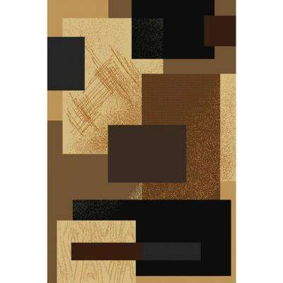 Soho Brown 5 ft. 3 in. x 7 ft. 6 in. Area Rug