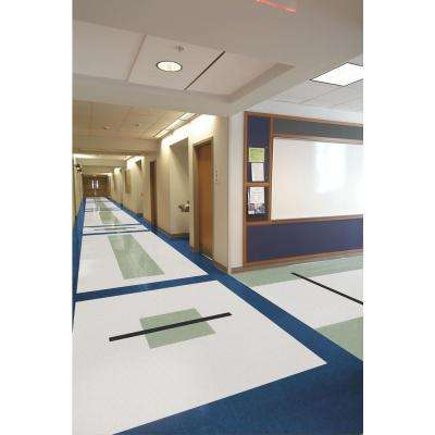 Excelon Multi 12 in. x 12 in. Carnival White Vinyl Tile Flooring (45 sq. ft. / case)