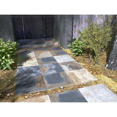 Mystique Multicolor 24 in. x 24 in. Porcelain Paver Floor Tile (14 pieces / 56 sq. ft. / pallet)