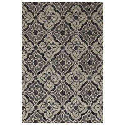 Dazzle Charcoal / Gray 5 ft. x 7 ft. 9 in. Indoor Area Rug