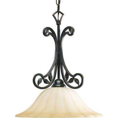 Le Jardin Collection 1-Light Espresso Pendant