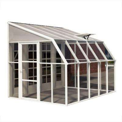 Sun Room 8 ft. x 10 ft. Clear Greenhouse