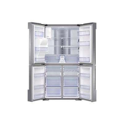 27.9 cu. ft. Family Hub 4-Door French Door Smart Refrigerator in Stainless Steel with FlexZone