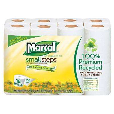 Recycled Bath Tissue 2-Ply (96 Rolls)