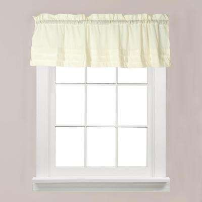 Holden 13 in. L Polyester Valance in Natural