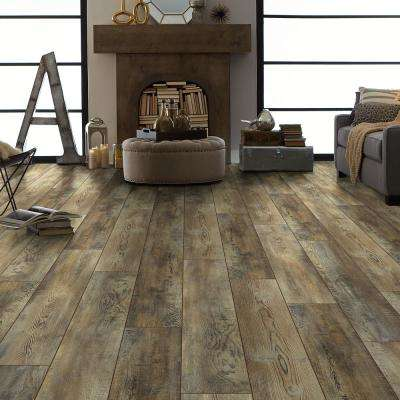 Primavera 7 in. x 48 in. Ginger Resilient Vinyl Plank Flooring (18.91 sq. ft. / case)