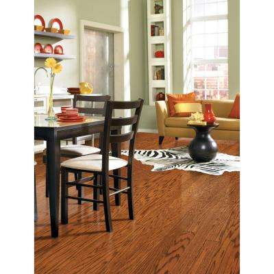 Brushed Oak Antique Brown 1/2 in. Thick x 5 in. Wide x Random Length Engineered Hardwood Flooring (31 sq. ft. / case)