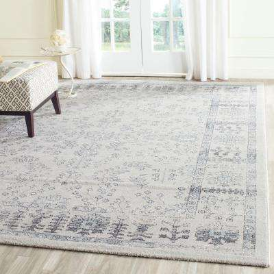 Carmel Beige/Blue 8 ft. x 10 ft. Area Rug