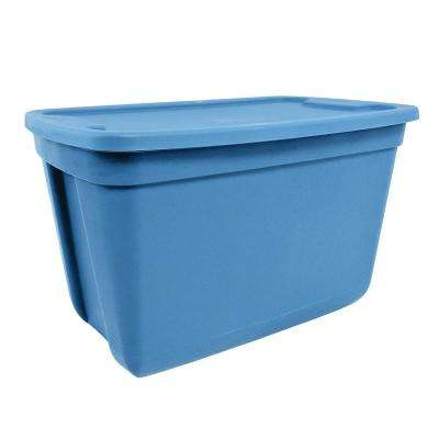 20 Gal. Storage Tote in Blue