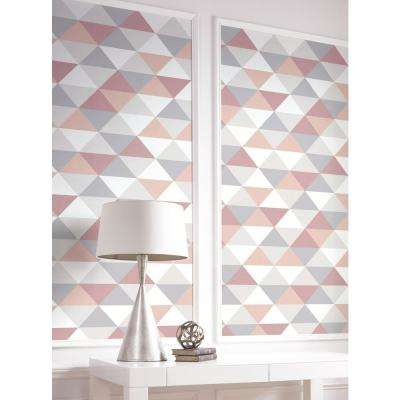 Mod Triangles Peel and Stick Wallpaper