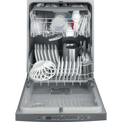 Top Control Tall Tub Dishwasher in Black Slate with Steam Cleaning, Fingerprint Resistant and ENERGY STAR, 50 dBA