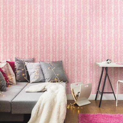 Animal Print - Pink - Vinyl - Wallpaper - Decor - The Home Depot