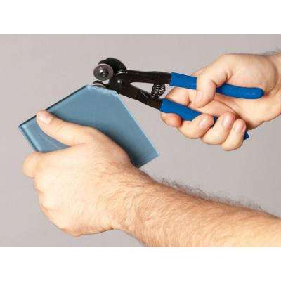 Glass Tile Nipper, Contoured Handles with Cushion Grip