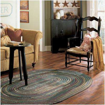 Owen Summer 10 ft. x 13 ft. Oval Braided Area Rug