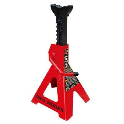 12-Ton Steel Jack Stands (2 Pack)
