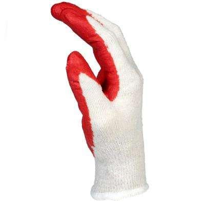 Economy Latex Coated Large Knit Gloves (6-Pack)