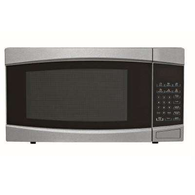 1.4 cu. ft. Countertop Microwave in Stainless Steel