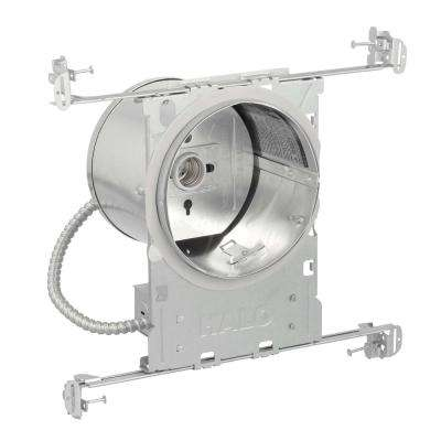 H7 6 in. Aluminum Recessed Lighting Housing for New Construction Ceiling, Insulation Contact, Air-Tite