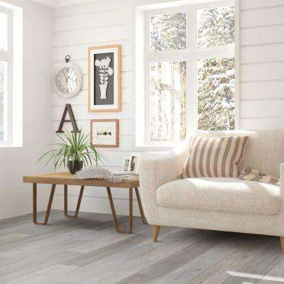 Aged Timber Light Grey 8 in. Wide x 48 in. Length Click Floating luxury vinyl plank flooring (18.22 sq. ft./case)