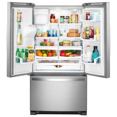 20 cu. ft. French Door Refrigerator in Fingerprint Resistant Stainless Steel