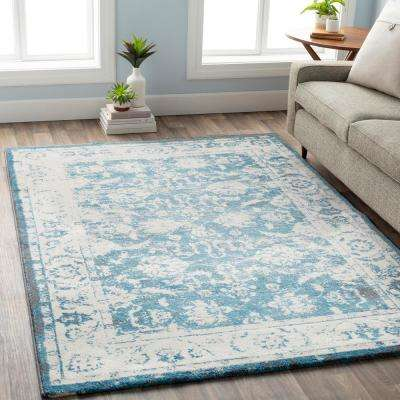 Apricity White 8 ft. x 10 ft. Indoor Area Rug