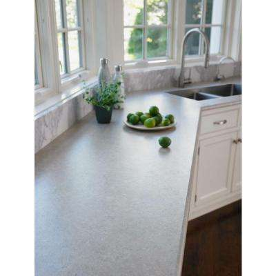 4 ft. x 8 ft. Laminate Sheet in Concrete Stone with Premiumfx Scovato Finish