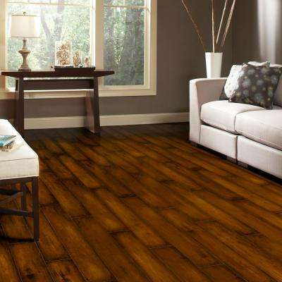 Distressed Maple Lawrence 8 mm Thick x 5-5/8 in. Wide x 47-7/8 in. Length Laminate Flooring (748 sq. ft. / pallet)