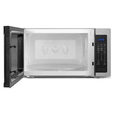 2.2 cu. ft. Countertop Microwave in Stainless Steel, Built-In Capable with Sensor Cooking