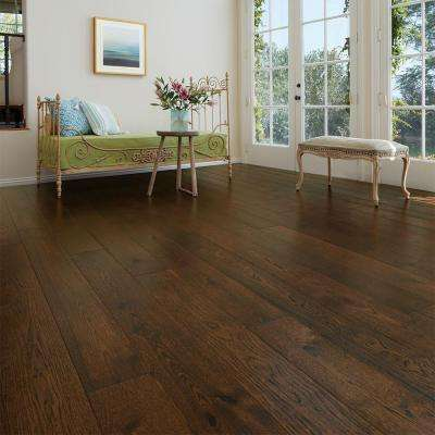 Hickory Trestles 1/2 in. Thick x 7-1/2 in. Wide x Varying Length Engineered Hardwood Flooring (23.31 sq. ft. / case)