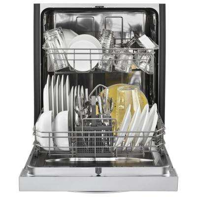 Front Control Built-In Tall Tub Dishwasher in Stainless Steel with Stainless Steel Tub, 51 dBA