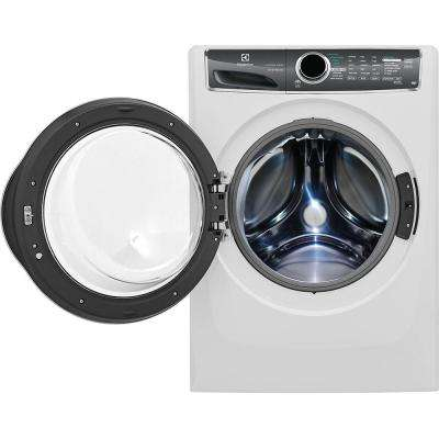 4.4 cu. ft. Front Load Washer with SmartBoost Technology, Steam in White, ENERGY STAR