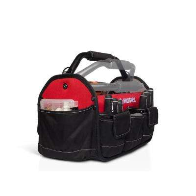 15 in. Open Tool Tote with Rotating Handle