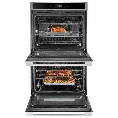 30 in. Smart Double Electric Wall Oven with True Convection Cooking in Fingerprint Resistant Stainless Steel