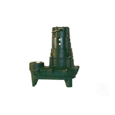Waste-Mate N270 1 HP Submersible Sewage or Effluent or Dewatering Non-Automatic Pump-DISCONTINUED