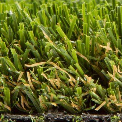 Allure Meadow Green 15 ft. Wide x Customer Length Artificial Grass Synthetic Lawn Turf