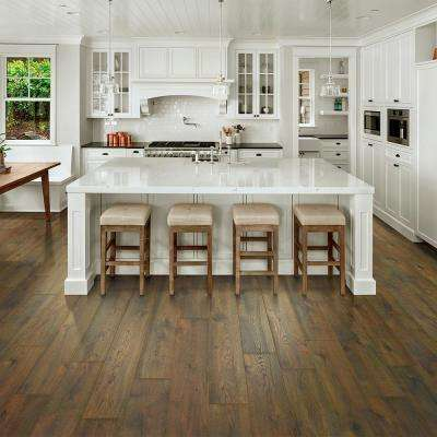 Take Home Sample - Chestnut Beluga Oak Laminate Flooring - 5 in. x 7 in.