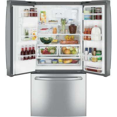 23.7 cu. ft. French Door Refrigerator in Stainless Steel, ENERGY STAR