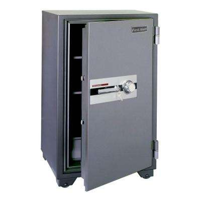 5.91 cu. ft. Capacity and Solid Steel Construction Fire Resistant Combination Safe