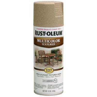 12 oz. Desert Bisque Protective Enamel Multi-Colored Textured Spray Paint (Case of 6)