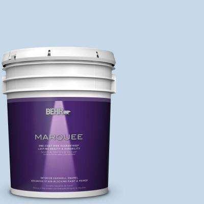 5 gal. #MQ3-24 Celestial Light One-Coat Hide Eggshell Interior Paint