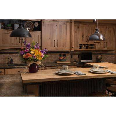 6 ft. 2 in. L x 3 ft. 3 in. D x 1.5 in. T Butcher Block Countertop in Unfinished Birch
