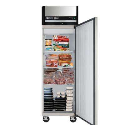 X-Series 23 cu. ft. Commercial Reach In Upright Freezer in Stainless Steel