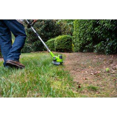 24-Volt 12 in. String Trimmer, 2Ah USB Battery and Charger Included ST24B215