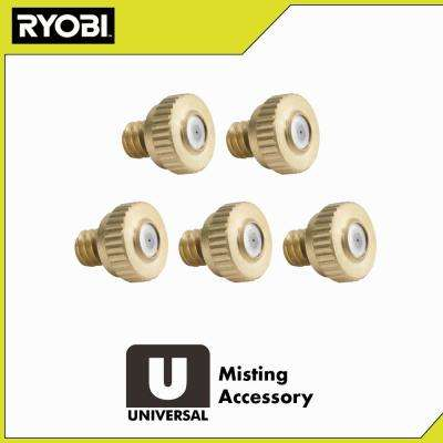 Brass Misting Nozzles (5-Pack)